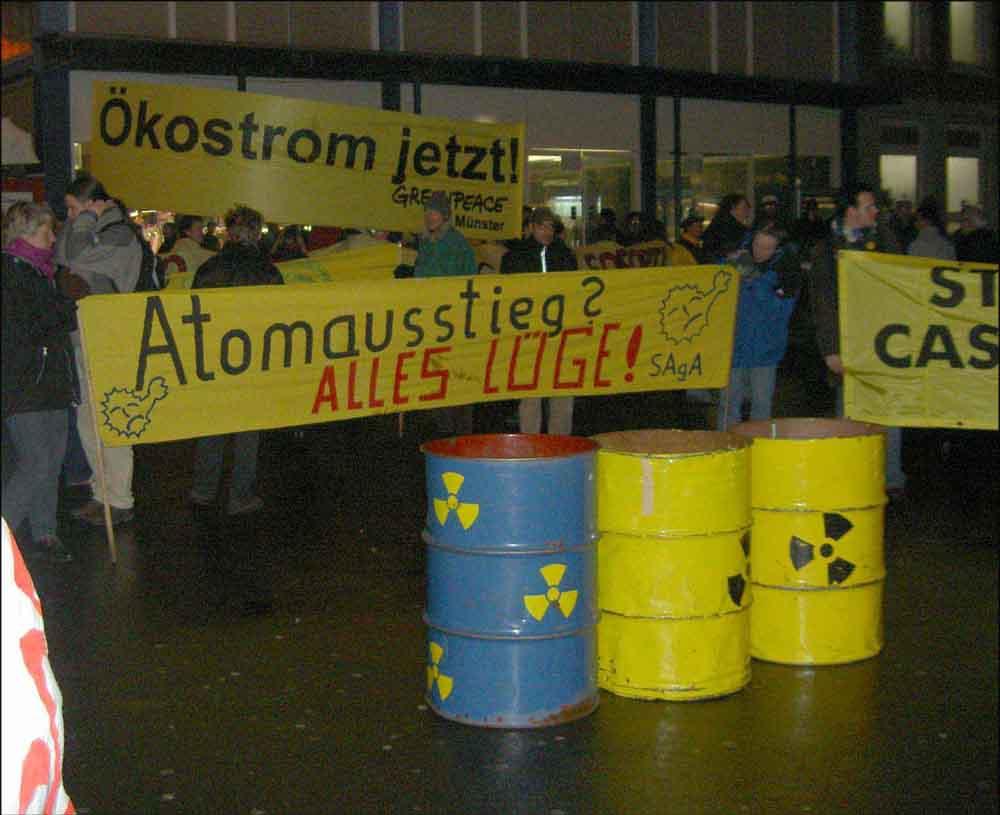 Demo Münster 2003-02-04
