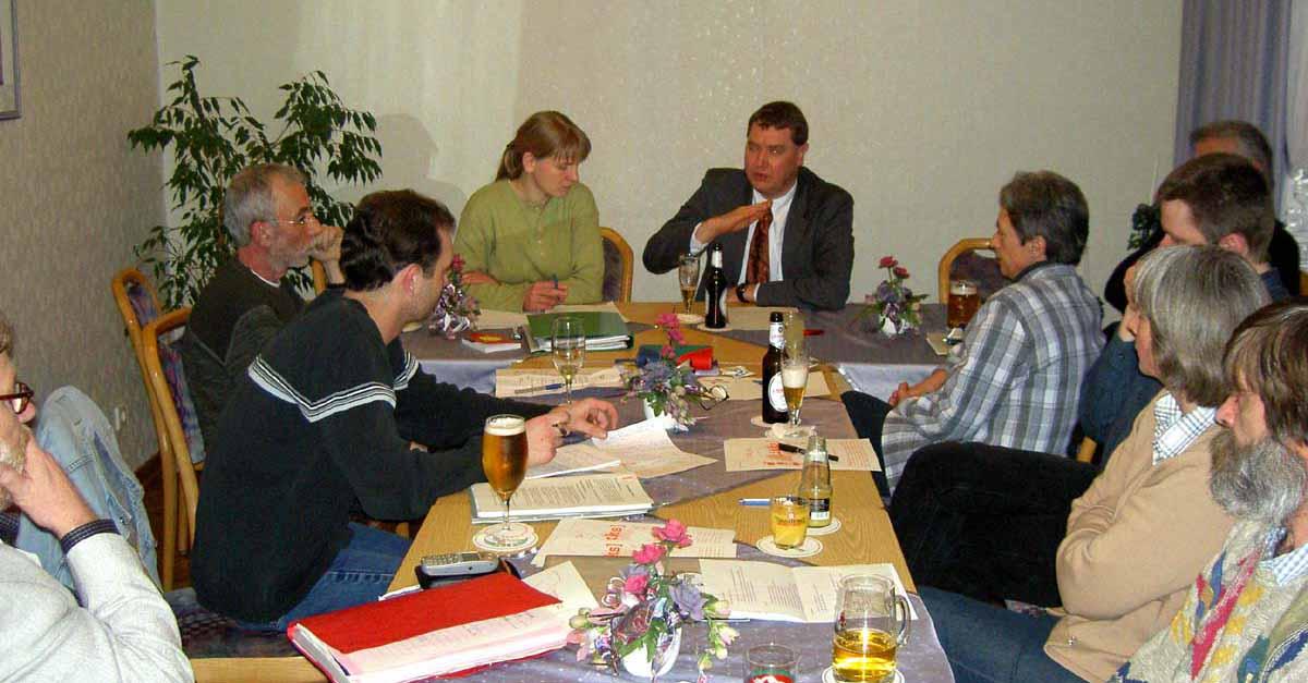Foto: Mitgliederversammlung der GAL vom 2003-03-11